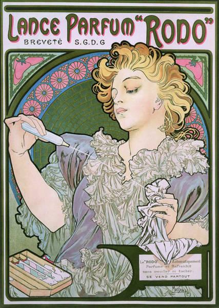 Wall Art - Painting - Lance Perfume, Rodo - Digital Remastered Edition by Alfons Maria Mucha