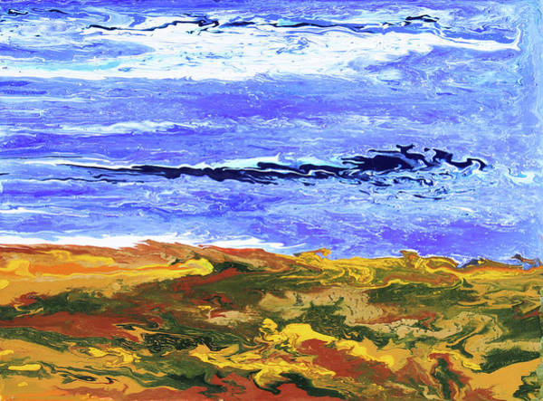 Painting - Land Meets Sea by Ralph White