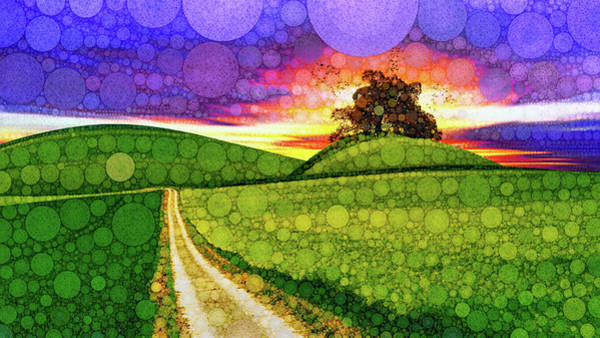 Mixed Media - Land Of Dreams by Susan Maxwell Schmidt
