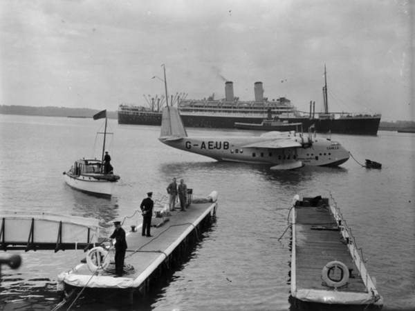 Seaplanes Photograph - Landing Stage by A R Hudson