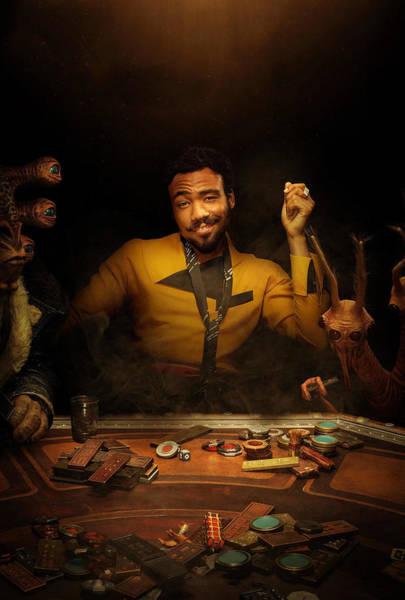 Star Wars Wall Art - Digital Art - Lando Solo A Star Wars Story by Geek N Rock