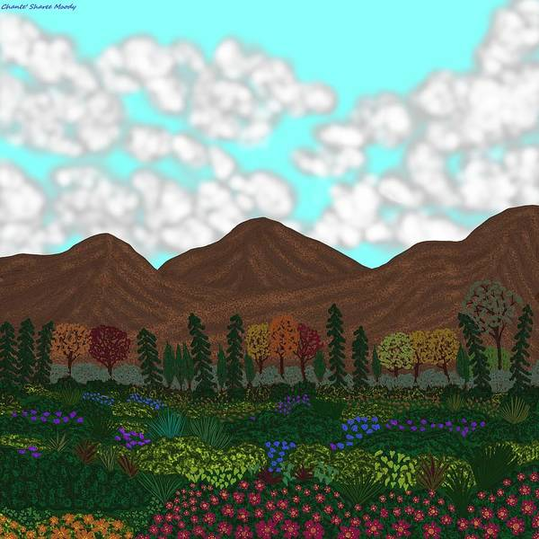 Wall Art - Digital Art - Landscape 1 by Chante Moody