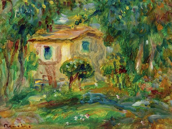 Wall Art - Painting - Landscape, 1902 by Pierre-Auguste Renoir