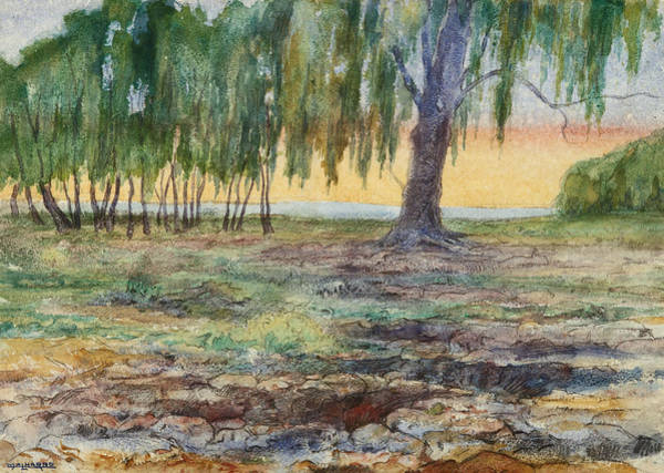 Drawing - Landscape, 1907 by Martin Malharro