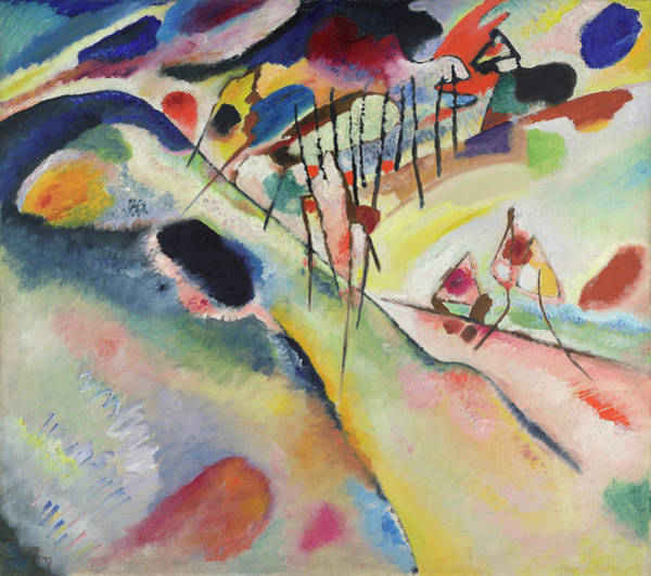 Wassily Kandinsky Painting - Landscape, 1913 by Wassily Kandinsky
