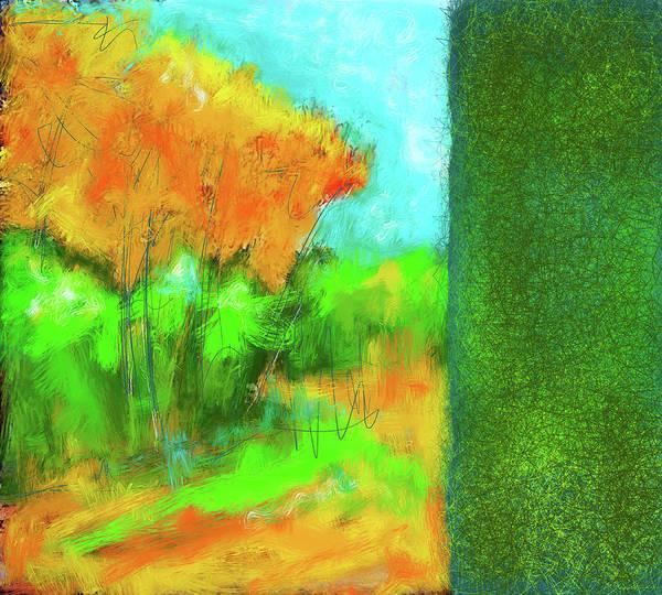 Elliott Digital Art - Landscape by Elliott Aaron From