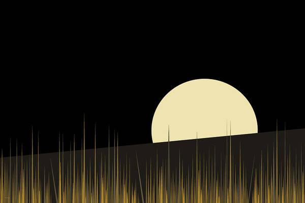 Wall Art - Digital Art - Landscape - Hilltop 3 by Val Arie