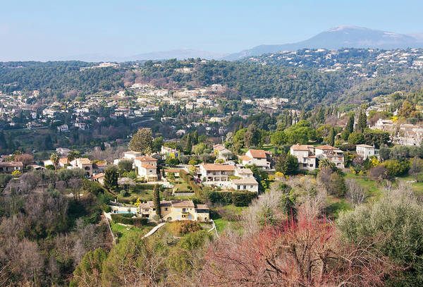 Villa Photograph - Landscape In The South Of France by Typo-graphics