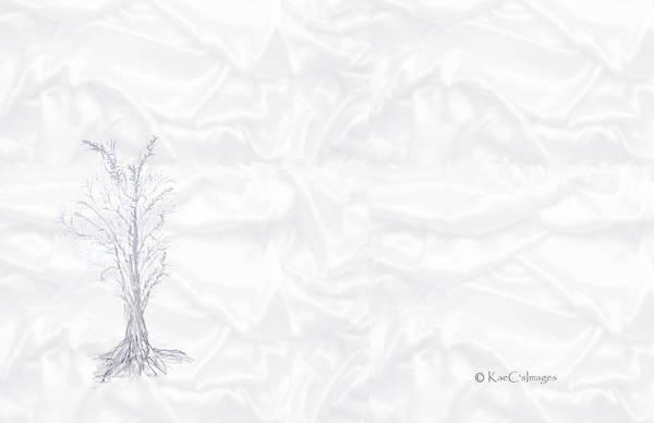 Digital Art - Landscape In White by Kae Cheatham