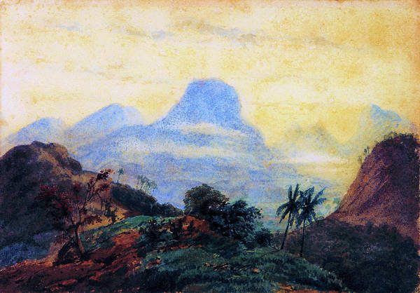 Wall Art - Painting - Landscape, Memory Of Brazil - Digital Remastered Edition by Prilidiano Pueyrredon