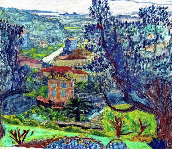 Wall Art - Painting - Landscape Of Canet - Digital Remastered Edition by Pierre Bonnard