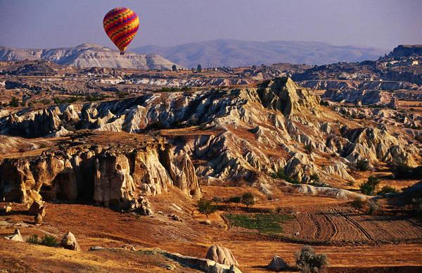 Cappadocia Photograph - Landscape Of Cappadocia Seen From by Jean-bernard Carillet