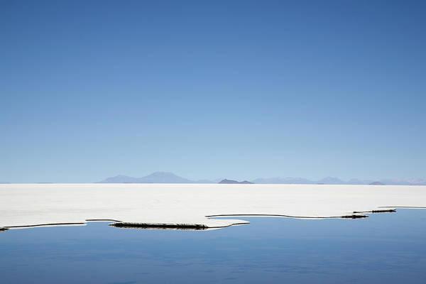 Salar De Atacama Photograph - Landscape Of Salar De Uyuni by Andrew Geiger