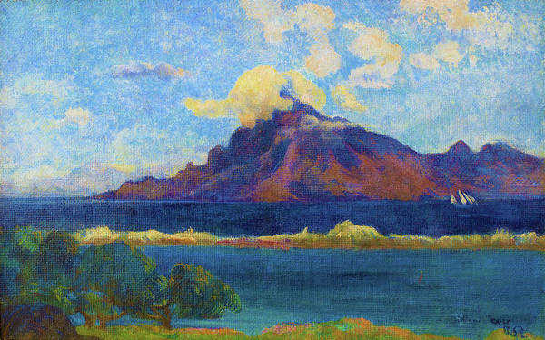 Wall Art - Painting - Landscape Of Te Vaa - Digital Remastered Edition by Paul Gauguin