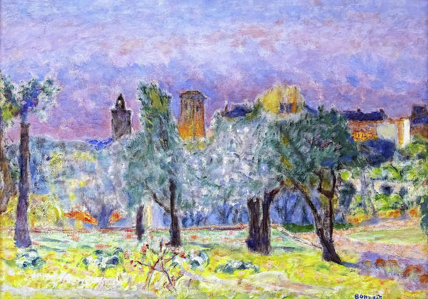 Park Avenue Painting - Landscape Of The Midi - Digital Remastered Edition by Pierre Bonnard