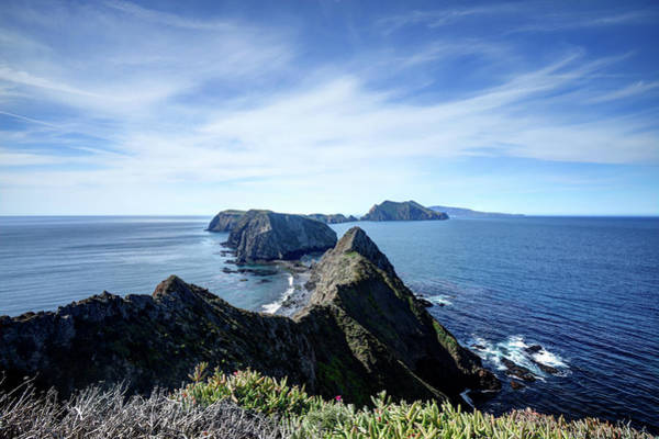 Ventura Photograph - Landscape Of The Volcanic Anacapa Island by Andrewhelwich