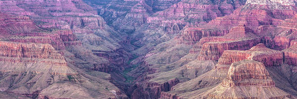 Photograph - Landscape Panorama Of Grand Canyon National Park - Arizona by Gregory Ballos