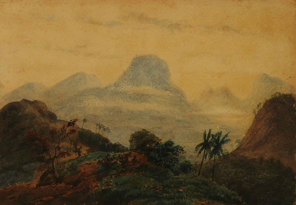 Remembrance Painting - Landscape - Remembrance Of Brazil by Prilidiano Pueyrredon