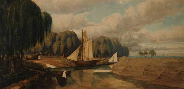 Painting - Landscape - San Fernando by Prilidiano Pueyrredon