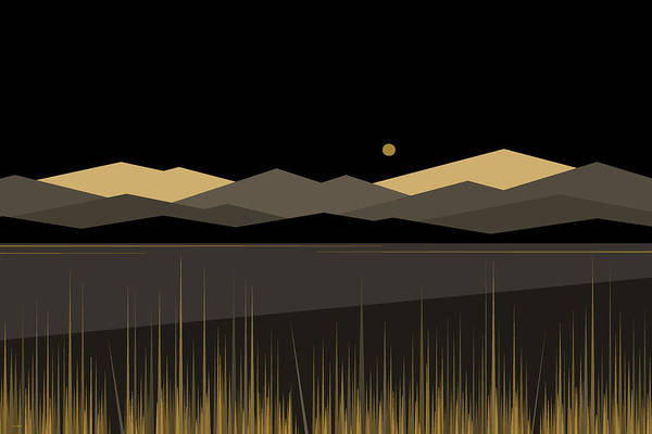Wall Art - Digital Art - Landscape by Val Arie