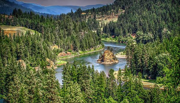 Photograph - Landscape Views Around Kootenai River National Park Montana by Alex Grichenko