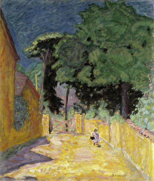 Wall Art - Painting - Lane At Vernonnet, 1914 by Pierre Bonnard
