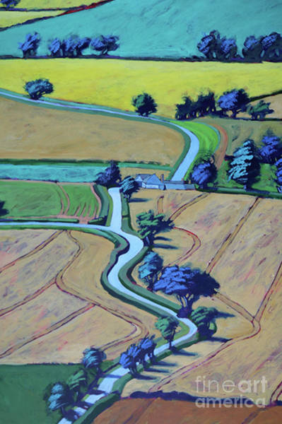 Wall Art - Painting - Lane In Summer Close Up 1 by Paul Powis