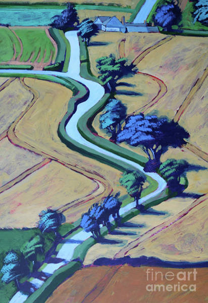 Wall Art - Painting - Lane In Summer Close Up 2  by Paul Powis