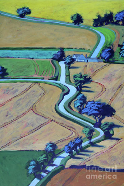 Wall Art - Painting - Lane In Summer Close Up by Paul Powis