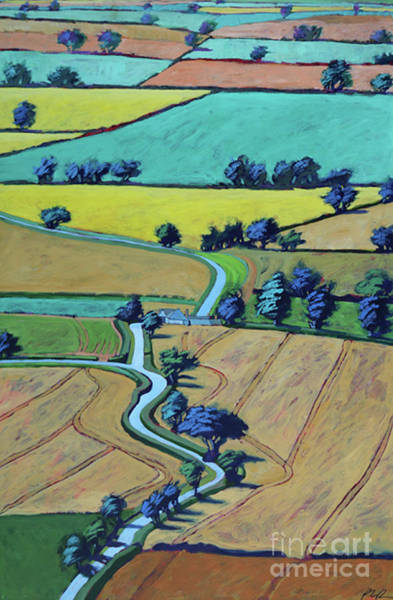 Wall Art - Painting - Lane In Summer by Paul Powis