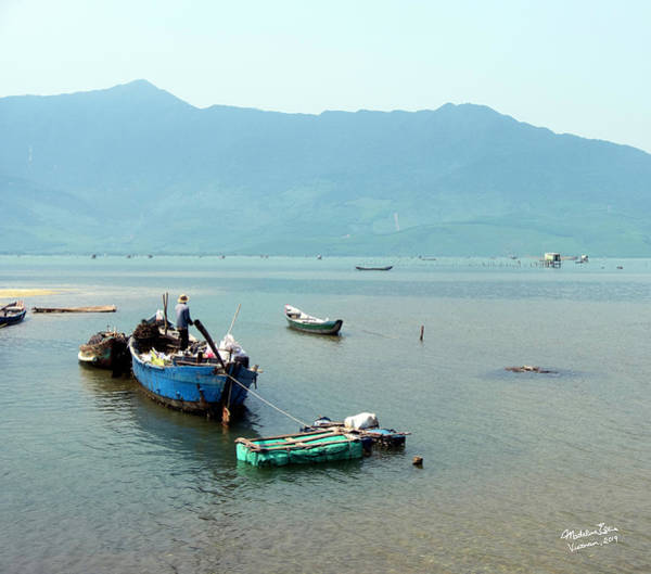 Wall Art - Photograph - Lang Co Boats - Hue, Vietnam by Madeline Ellis