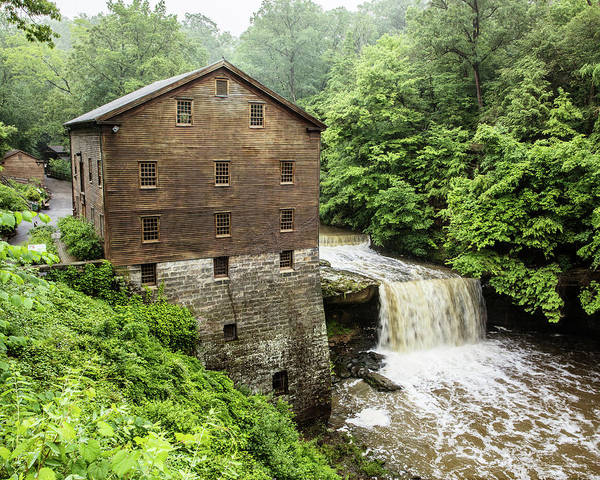 Wall Art - Photograph - Lanterman's Mill Youngstown - #2 by Stephen Stookey