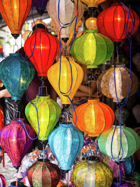 Photograph - Lanterns Hoi An by Gary Gillette