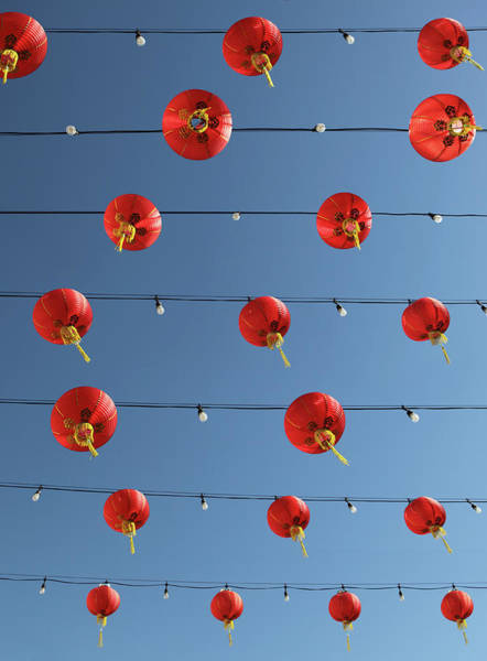 Chinese Lantern Wall Art - Photograph - Lanterns In Chinatown by Paul Taylor