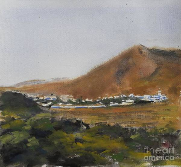 Painting - Lanzarote 6.19 by Karina Plachetka