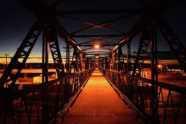 Photograph - Laramie Footbridge by Chance Kafka
