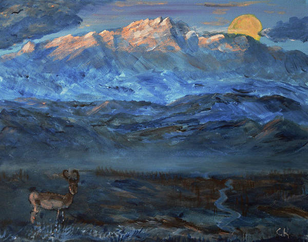 Painting - Laramie Peak Morning by Chance Kafka