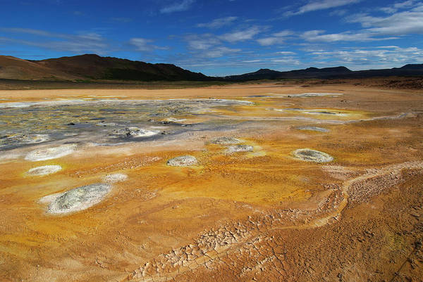 Sulphur Photograph - Large Sulphur Spring Area At by Martin Moos