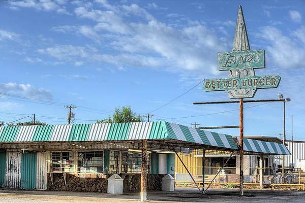 Photograph - Larrys Better Burger by JC Findley