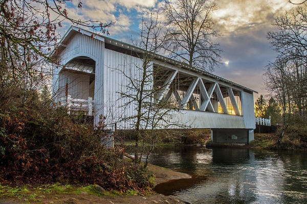 Photograph - Larwood Bridge by Matthew Irvin