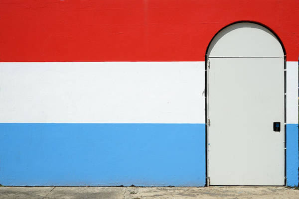 Photograph - Las Croabas - Red White And Blue by Richard Reeve
