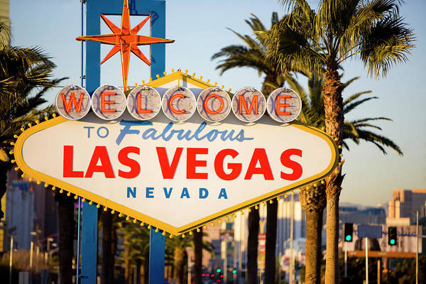 Luck Photograph - Las Vegas Sign by Webphotographeer