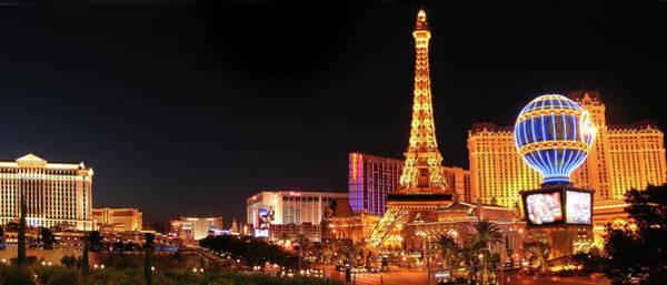 Las Vegas Photograph - Las Vegas Strip by Images Etc Ltd