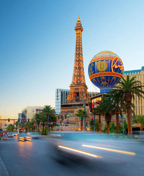 Las Vegas Photograph - Las Vegas, The Strip, Paris Las Vegas by Alan Copson