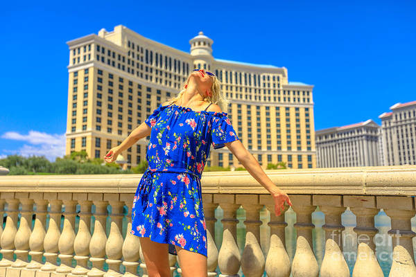 Photograph - Las Vegas Travel Summer Holidays by Benny Marty