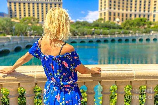 Photograph - Las Vegas Woman by Benny Marty
