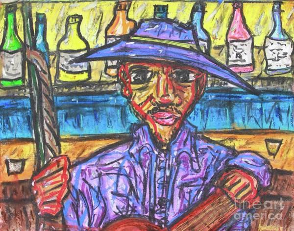 Drawing - Last Call by Odalo Wasikhongo