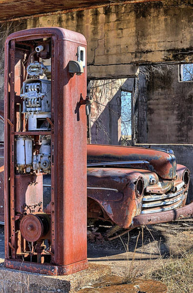Photograph - Last Chance For Gas by JC Findley