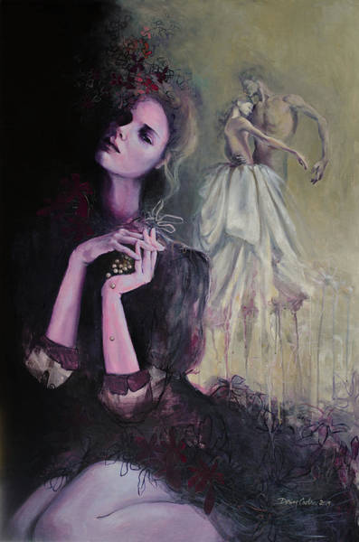 Wall Art - Painting - Last Dance by Dorina Costras
