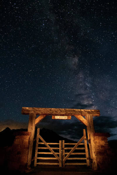 Photograph - Last Dollar Milky Way by Steve Stuller